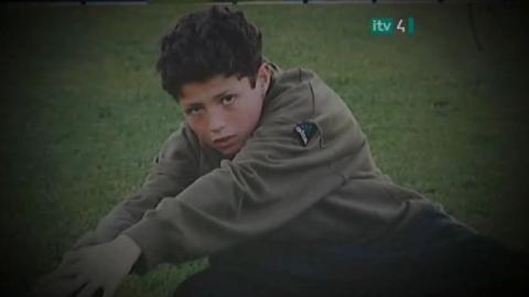 Cristiano Ronaldo em Pequeno