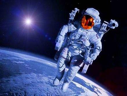 imagens satelite astronautas