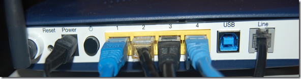 RJ45 Optic Fiber Internet Router