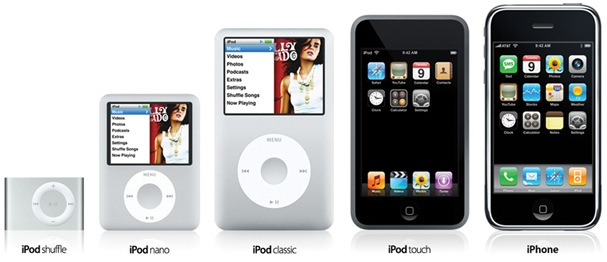 iPod Family familia