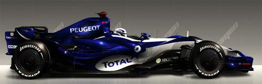Formula 1 Peugeot