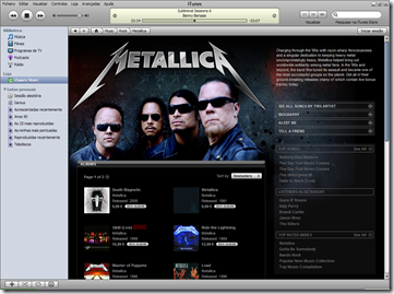 Download Musicas Legalmente Metallica iTunes